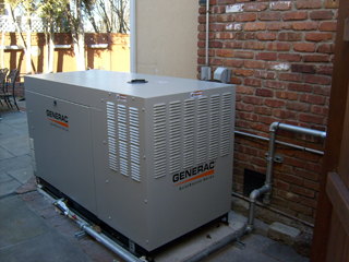 Be prepared for storms - let us install a backup generator
